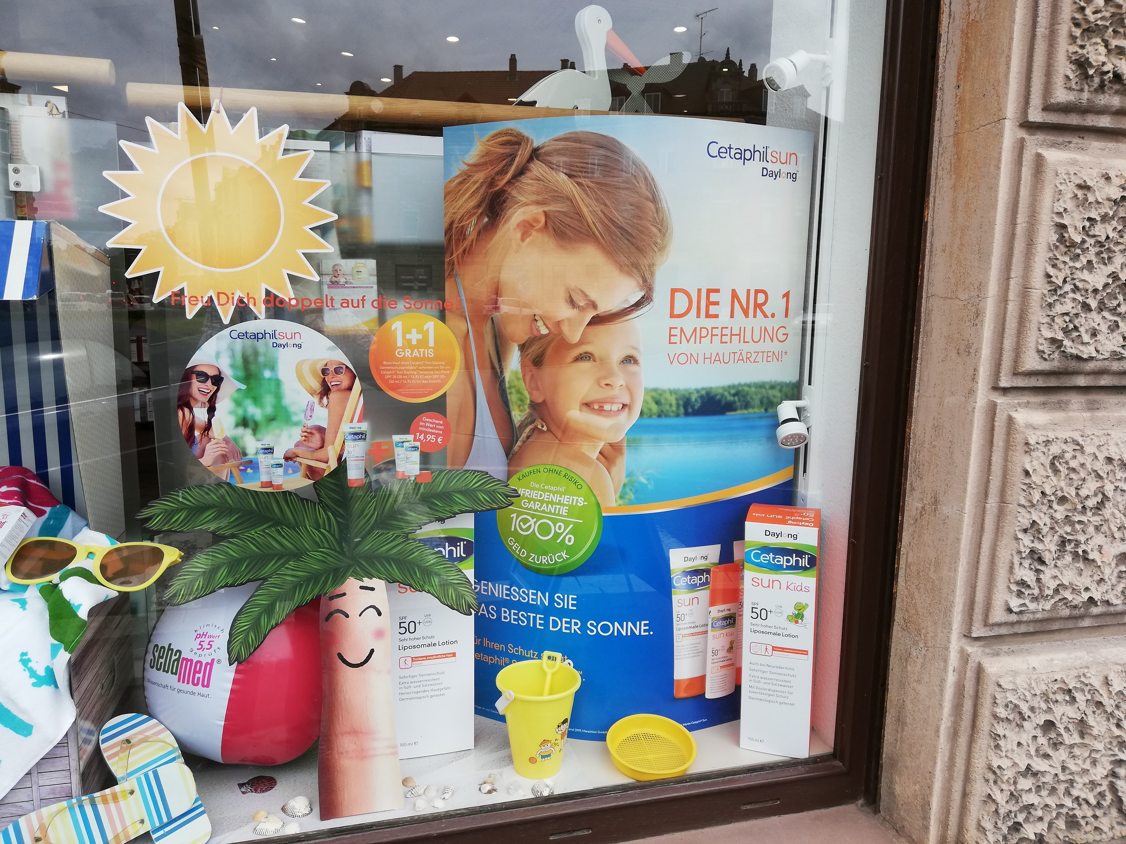 1 plus 1 Aktion mit Cetaphil Sun